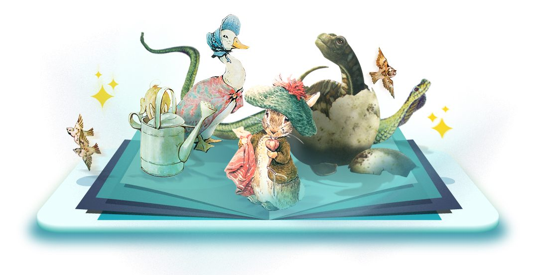 An Awesome Augmented Reality Books for Kids