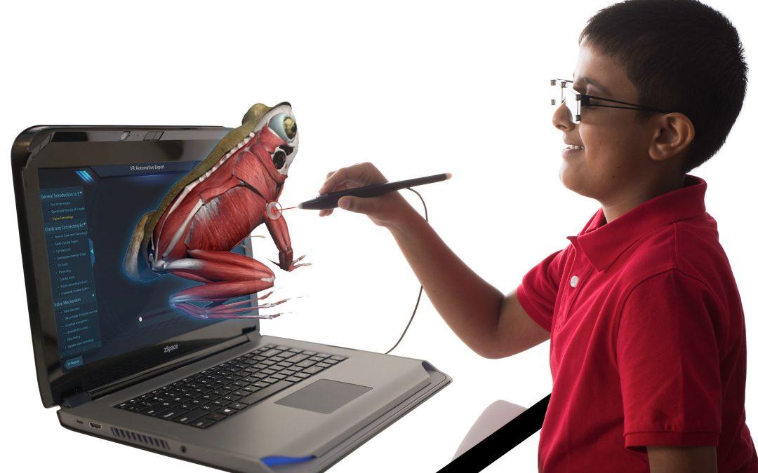 zSpace: AR/VR laptop