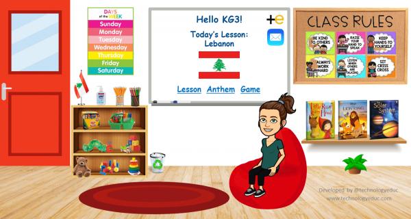 Preschool Bitmoji Classroom